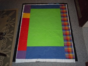 Front of quilt 1