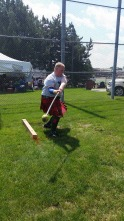heavy hammer Alma Highland games