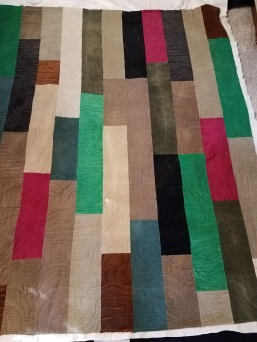 courduroy quilt quilted by Vicki Holloway