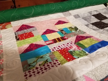 Houses made by Vicki Holloway